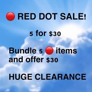 Accessories -  Red Dot Sale! Stock up now for MAJOR Savings